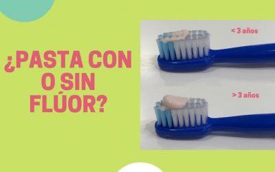 Que pasta debemos de utilizar¿con o sin fluor?