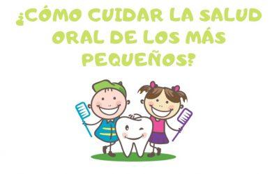 Como cuidar la salud oral de los más pequeños.